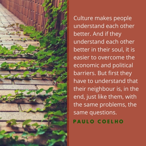 Culture makes people understand each other