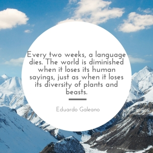 Language dies